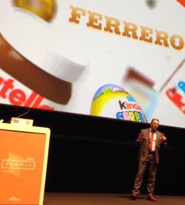 Tiziano Vannoni, Gruppo Ferrero
