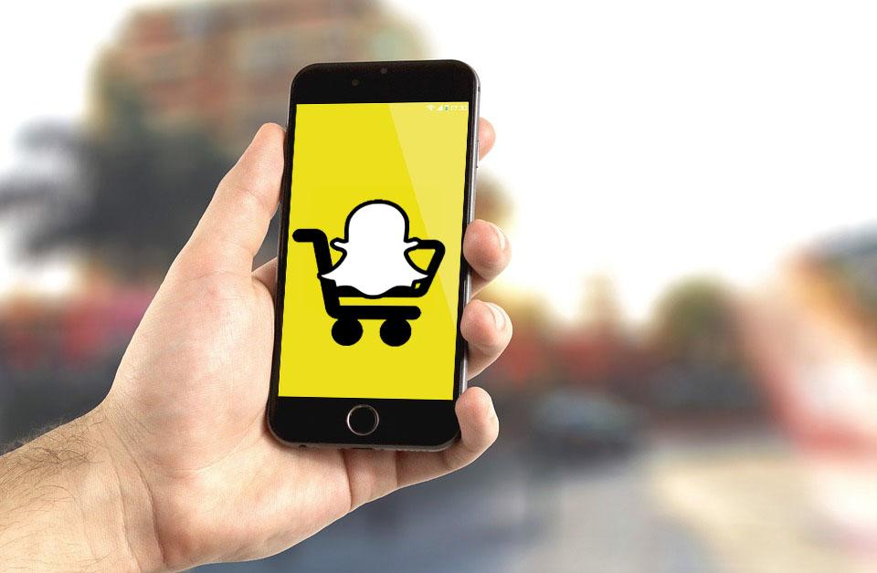 Ecommerce su Snapchat