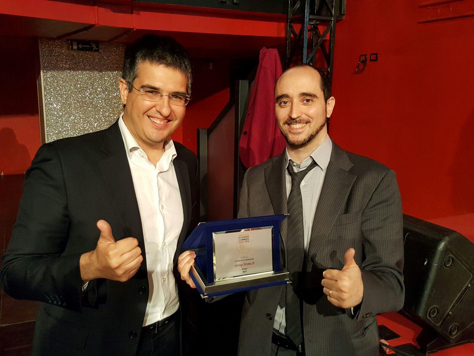 """PREMI-Netcomm eCommerce Award 2016: vince nella categoria """"Cosmetica e benessere"""" B2X Gruppo ISED SpA"""