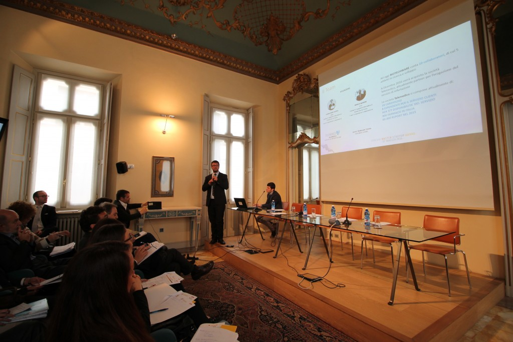 "STARTUP-Biotechware: vince il premio ""Franci@Start-Up"" all'Italian Master Startup Award 2016"