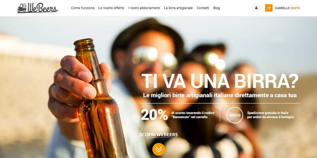 STARTUP-Digital Magics: editoriale Domus entra in WeBeers, l'e-commerce per scoprire e ordinare le migliori birre artigianali italiane