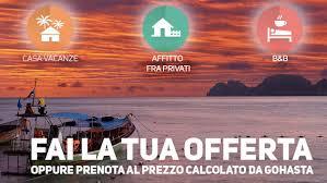 E' Il primo portale di prenotazioni viaggi che ti permette di fare UN'OFFERTA alle strutture e viaggiare al tuo prezzo