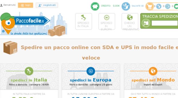 ECOMMERCE-Paccofacile.it: l'affidabilità dei migliori corrieri nazionali e internazionali al prezzo più conveniente