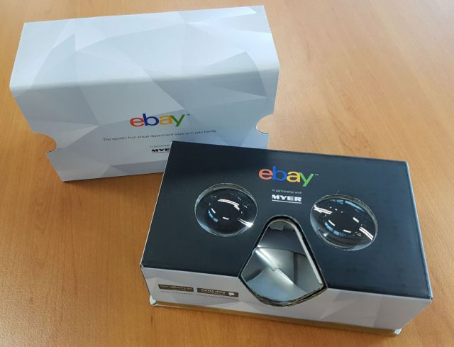 Su eBay si fa shopping in realtà virtuale
