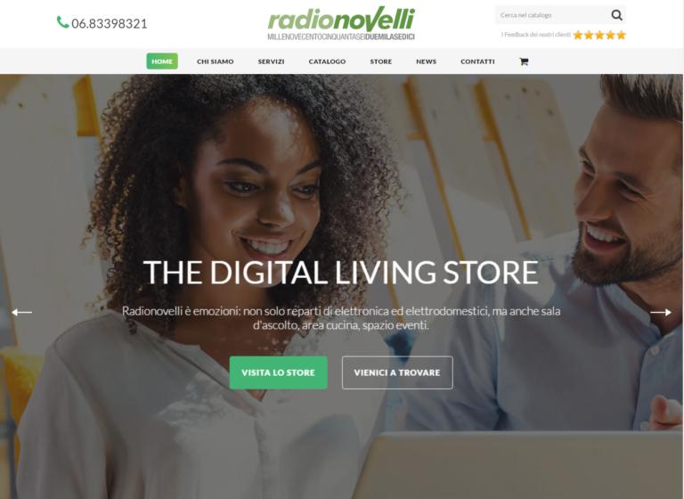 Un nuovo sito Web per il digital living di Radionovelli