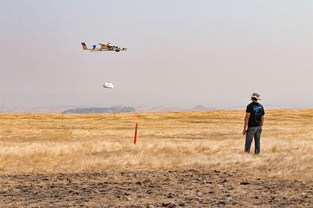 Google e Chiplote consegneranno burrito coi droni