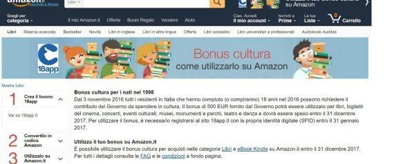 Amazon e il bonus cultura: per Boccia (Pd) allarme conflitto d'interessi