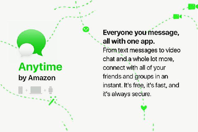 Amazon Anytime, la nuova app di messaggistica che vuole sfidare WhatsApp